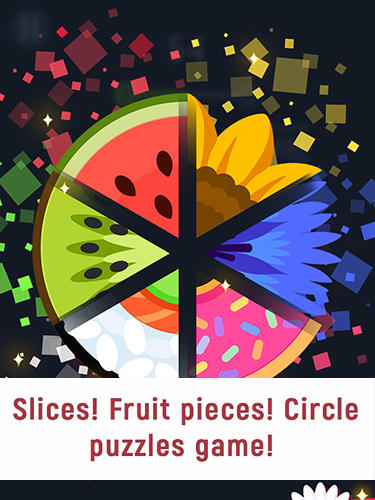 Descargar Slices! Fruit pieces! Circle puzzles game! gratis para Android.