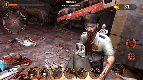 Zombie sniper counter shooter: Last man survival