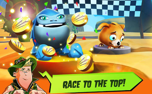Creature racer: On your marks!