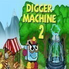Con la juego Puzzle monsters para Android, descarga gratis Digger machine 2: Dig diamonds in new worlds  para celular o tableta.