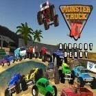 Con la juego Man vs Toilet para Android, descarga gratis Monster truck XT airport derby  para celular o tableta.