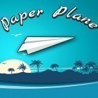 Con la juego Bubble сat: Rescue para Android, descarga gratis Paper plane: Tap game  para celular o tableta.