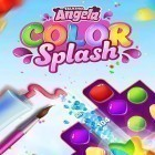 Con la juego Caper para Android, descarga gratis Talking Angela color splash  para celular o tableta.