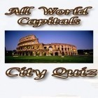 Con la juego Gold diggers para Android, descarga gratis All world capitals: City quiz  para celular o tableta.