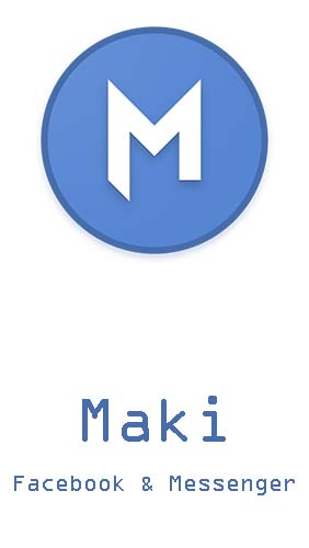 Descargar app Internet y comunicación Maki: Facebook and Messenger in one awesome app gratis para celular y tablet Android.