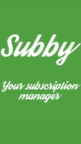 Descargar app Organizadores Subby - The Subscription Manager gratis para celular y tablet Android.
