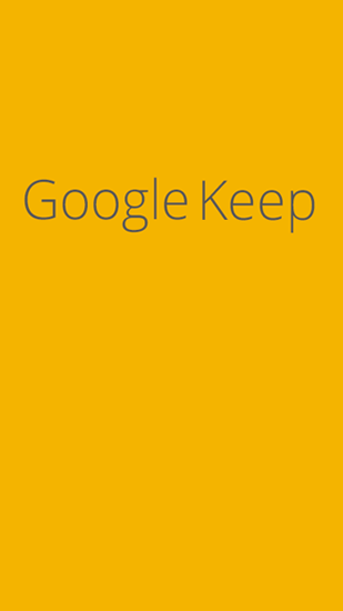 Descargar app Google Keep gratis para celular y tablet Android 4.0.