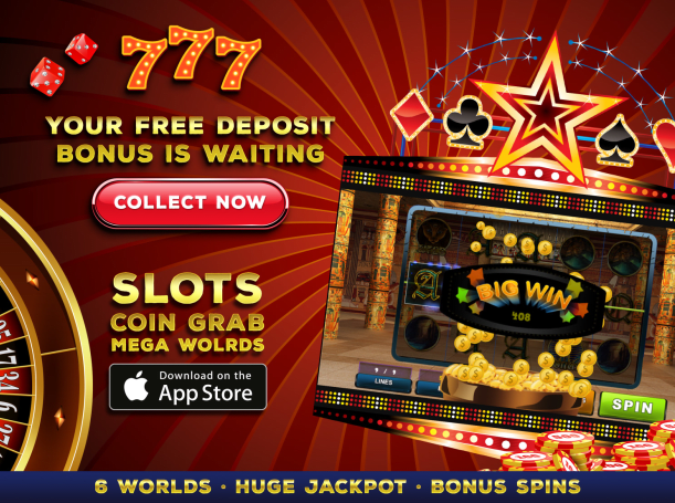 Descargar Slots: Coin Grab Mega Worlds para iPhone gratis.