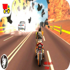 Con la juego Billar Ninja para Android, descarga gratis Super 3D Highway Bike Stunt: Motorbike Racing Game  para celular o tableta.