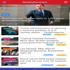 Con la aplicación  para Android, descarga gratis Weekly Reviewer: Breaking News Updates & More!  para celular o tableta.