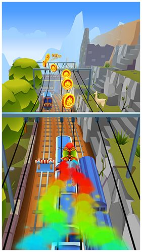 Subway surfers: Peru
