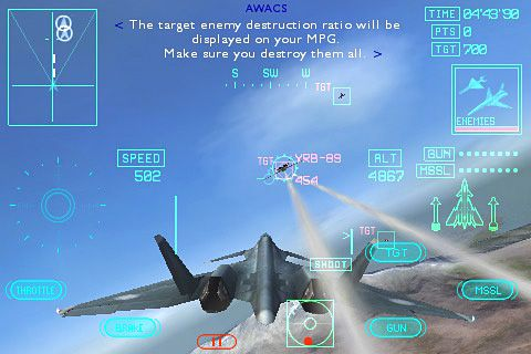 Ace combat Xi: Skies of incursion