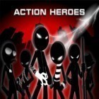 Con la juego Zombie hunter: Bring death to the dead para iPod, descarga gratis Action heroes 9 in 1.