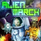 Con la juego Frontline Commando para iPod, descarga gratis Alien March.