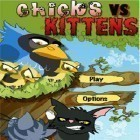 Con la juego Random heroes 3 para iPod, descarga gratis Chicks vs. Kittens.