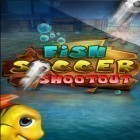 Con la juego Fruit Ninja para iPod, descarga gratis Fish soccer: Shootout.