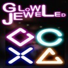 Con la juego Fruit Ninja para iPod, descarga gratis Glow jeweled.
