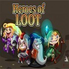 Con la juego Smoky burger maker chef para iPod, descarga gratis Heroes of Loot.