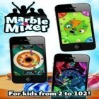 Con la juego Crazy monster whack: Blood edition para iPod, descarga gratis Marble Mixer.
