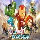 Con la juego Castle storm: Free to siege para iPod, descarga gratis Marvel: Run, jump, smash!.