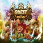 Con la juego Volt para iPod, descarga gratis Quest defense.