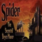 Con la juego Castle storm: Free to siege para iPod, descarga gratis Spider The Secret of Bryce Manor.
