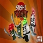 Con la juego Zombie highway para iPod, descarga gratis Sushi fight.
