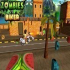 Con la juego War commander: Rogue assault para iPod, descarga gratis Zombies vs Biker (3D Bike racing games).