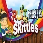 Con la juego Subway Surfers para iPod, descarga gratis Fruit Ninja vs Skittles.