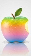Descargar la imagen Apple,Apples,Background,Objects para celular gratis.