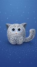 Humor, Apple, Snow leopard, Drawings para Sony Xperia Z1 Compact