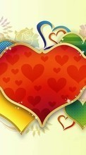 Descargar la imagen Background,Love,Hearts para celular gratis.