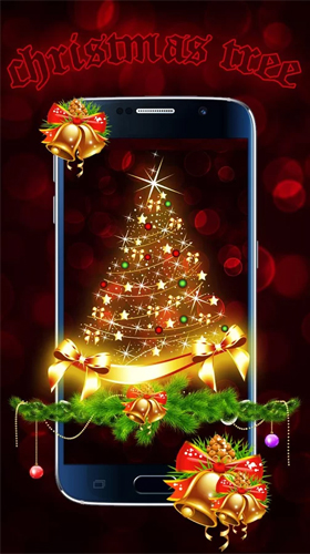 Descargar los fondos de pantalla animados Christmas tree by Live Wallpapers Studio Theme para teléfonos y tabletas Android gratis.