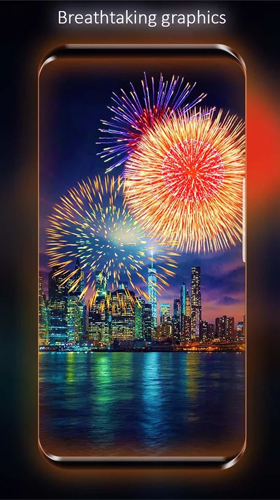 Descargar  Fireworks by Live Wallpapers HD - los fondos gratis de pantalla para Android en el escritorio.