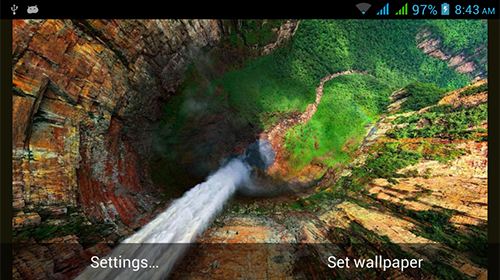 La captura de pantalla Nature HD by Live Wallpapers Ltd. para celular y tableta.