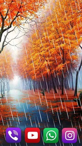 Autumn rain by SweetMood