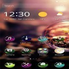 Además de los fondos de pantalla animados para Android Night nature HD, descarga la apk gratis de los salvapantallas Colorful ball.