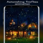 Además de los fondos de pantalla animados para Android Polar chub, descarga la apk gratis de los salvapantallas Fireflies by Live Wallpapers HD.