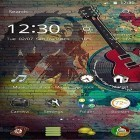 Además de los fondos de pantalla animados para Android Night nature HD, descarga la apk gratis de los salvapantallas Music life.
