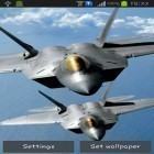 Además de los fondos de pantalla animados para Android Dragon strike, descarga la apk gratis de los salvapantallas Air force.
