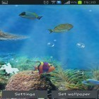 Además de los fondos de pantalla animados para Android Car HD, descarga la apk gratis de los salvapantallas Aquarium and fish.