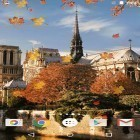 Además de los fondos de pantalla animados para Android Deer and nature 3D, descarga la apk gratis de los salvapantallas Autumn in Paris.
