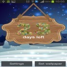 Además de los fondos de pantalla animados para Android Deer and nature 3D, descarga la apk gratis de los salvapantallas New Year: Countdown by Creative work.