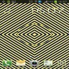 Además de los fondos de pantalla animados para Android Cat in the box, descarga la apk gratis de los salvapantallas Optical illusion.