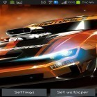 Además de los fondos de pantalla animados para Android Night nature HD, descarga la apk gratis de los salvapantallas Racing cars.
