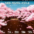 Además de los fondos de pantalla animados para Android Nature HD by Live Wallpapers Ltd., descarga la apk gratis de los salvapantallas Sakura's bridge.